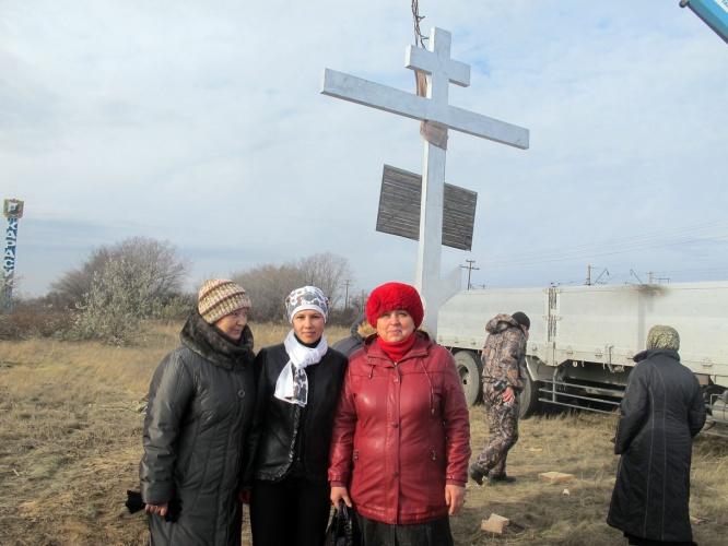 Поклонный Крест на выезде из Карасука в Новосибирск. (видео)