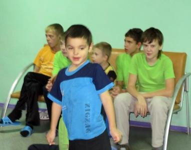 Дети-сироты в психиатрической больнице