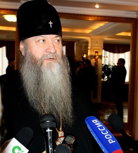Владыка Тихон выступил на Пленарном заседании Новосибирских Рождественских образовательных чтениях