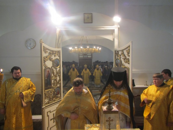Престольный праздник в Свято-Никольском кафедральном соборе