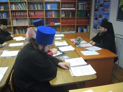 Годовое Епархиальное собрание Карасукской епархии