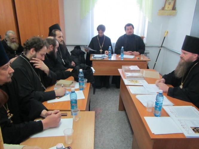 25 декабря 2012 г. состоялось отчетное годовое епархиальное собрание Искитимской епархии