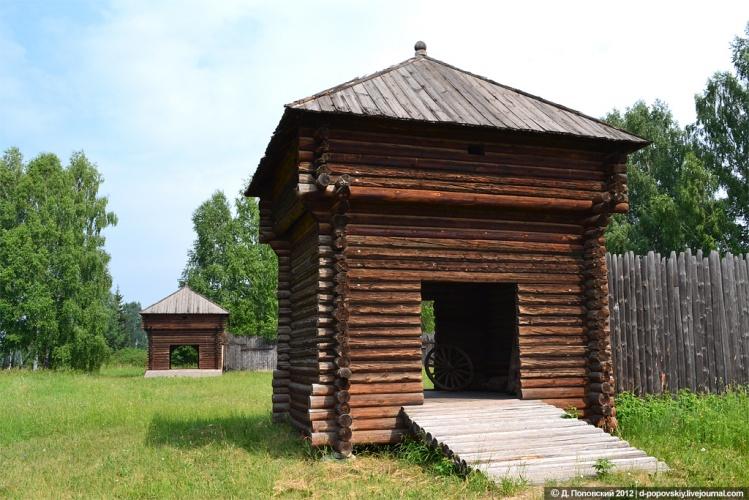 Казымский острог XVIII века, расположенный в Новосибирске, включен в реестр памятников РФ