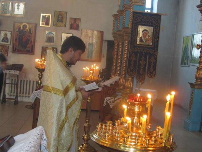 Собор Пресвятой Богородицы в Кафедральном соборе города Барабинска