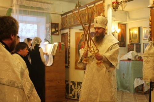 Престольный праздник в храме во имя преподобного Серафима Саровского