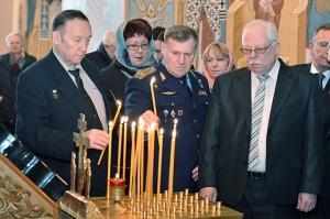 В Новосибирске отслужили панихиду об упокоении души Александра Покрышкина
