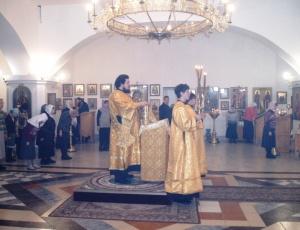 Первая годовщина архиерейской хиротонии преосвященного Луки, епископа Искитимского и Черепановского