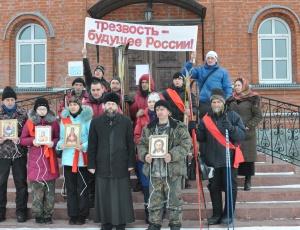 Разговор о  том, что «Трезвость – будущее России», заставил серьёзно задуматься сельскую молодёжь