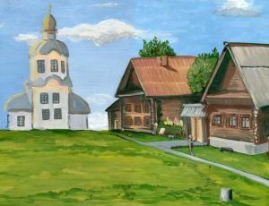 Победители конкурса «Русь Святая живёт…» встретились на территории собора в Каргате