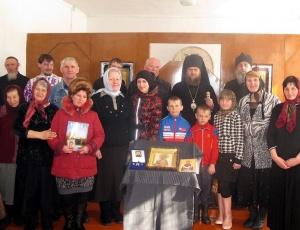 Родительская суббота в селе Веселовка и встреча с союзом женщин г. Карасука (видео)