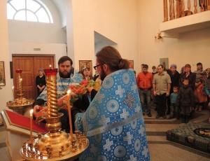 Благовещение Пресвятой Богородицы в Кафедральном соборе во имя св. ап. Андрея Первозванного г. Карасук (видео)