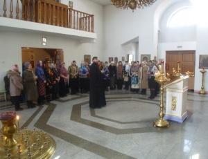 Встреча женщин-активисток Карасукского района в Кафедральном соборе г. Карасука