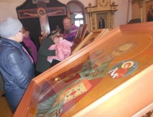 В Искитимской епархии встретили святыни