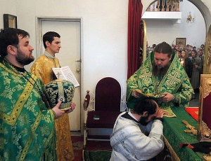 Вход Господень в Иерусалим и хиротония в Карасукской епархии (видео)