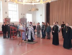 Православная молодежь посетила Новосибирскую семинарию