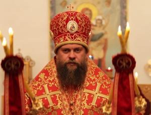 Пасхальное богослужение в Кафедральном соборе св. апостола Андрея Первозванного г. Карасук