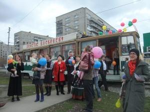 Пасхальный молодежный трамвай