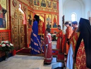 Пасха Христова в Иоанно-Предтеченском мужском монастыре г. Новосибирска (видео)