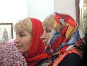 День святых жен-мироносиц в Кафедральном соборе г. Карасука