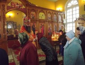 Преосвященнейший Феодосий в Кыштовке