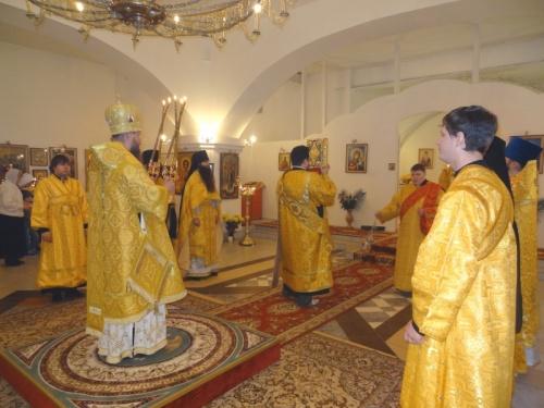 Престольный праздник Свято-Никольского кафедрального собора