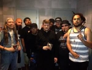 Православные побывали на концерте известной христианской рок-группы из Сан-Диего P.O.D.