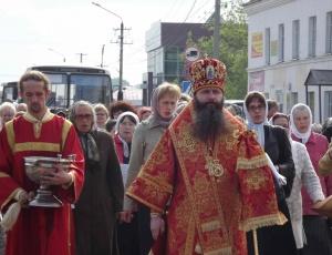 Крестный ход в Барабинске