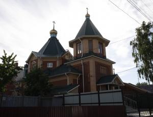 В Новосибирске освящен храм во имя св. Олега Брянского