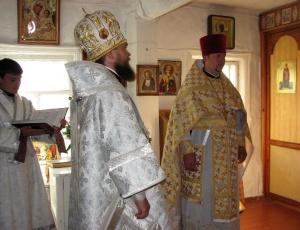 Отдание праздника Святой Пятидесятницы в сибирской глубинке