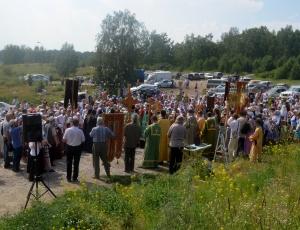 Фоторепортаж с крестного хода «За духовное возрождение России»