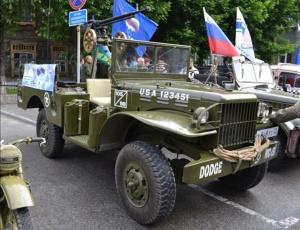 Автопробег «Марш Победы» в Кочковском районе