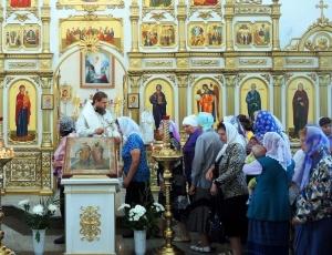 Праздник св. апостолов Петра и Павла в Кафедральном соборе ап. Андрея Первозванного г. Карасука