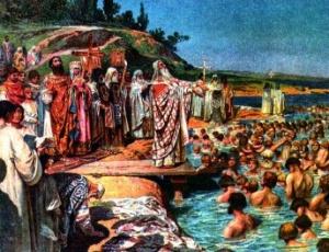 Святейший Патриарх Кирилл: Святая Русь жива, пока она верна выбору, сделанному равноапостольным князем Владимиром