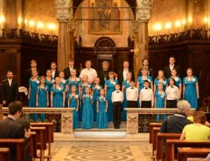 Церковный детско-юношеский хор взял «серебро» международного фестиваля в Риме