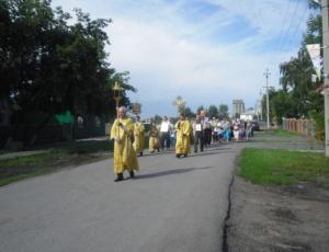 Престольный праздник в храме во имя св. равноапостального князя Владимира г. Карасука
