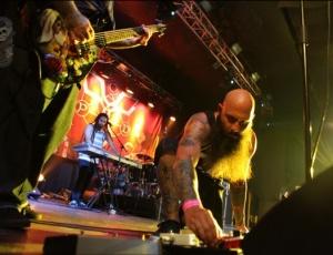 Православные встретились с музыкантами известной христианской рок-группы из США P.O.D.