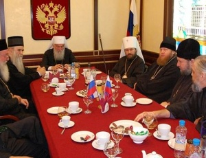 Сербский Патриарх: мы являемся единокровными, единоверными братьями