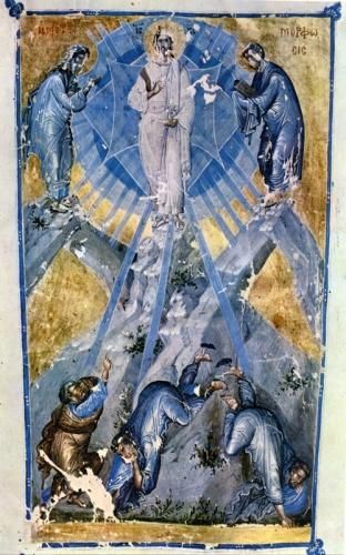 Миниатюра «Преображение Господне»: откровение о фаворском свете