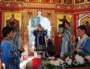 Литургия в Иоанно-Предтеченском мужском монастыре (видео)