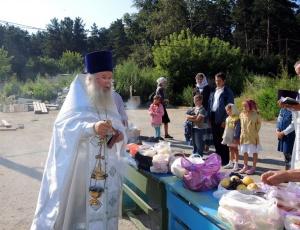 Праздник Преображения Господня в Ордынском
