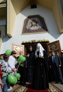 Главное в храме — люди, убежден Патриарх Кирилл