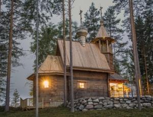 Финская семья построила православный храм