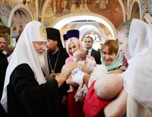 Святейший Патриарх Кирилл посетил Александро-Невский собор г. Новосибирска