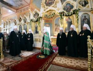 Состоялся визит Святейшего Патриарха Кирилла в Новосибирскую митрополию