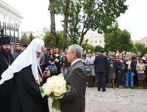Патриарх Кирилл: Любовь возвышает нас над природным миром