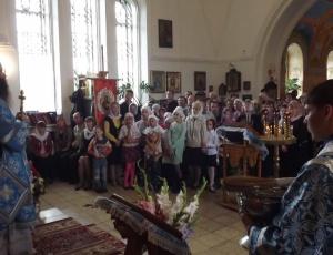 Епископ Феодосий совершен молебен на начало учебного года