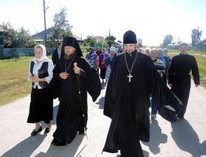 Святительский визит епископа Филиппа в Баганский район