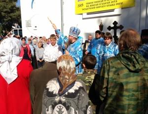 Престольный праздник Владимирской иконы Божьей Матери в Искитиме (видео)