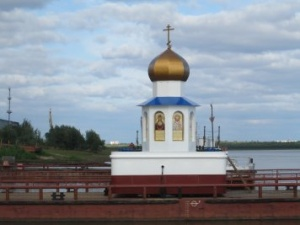 Первая в России часовня-маяк готова к освящению