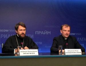 Митрополит Иларион: Заложниками политики западных государств оказываются местные христиане